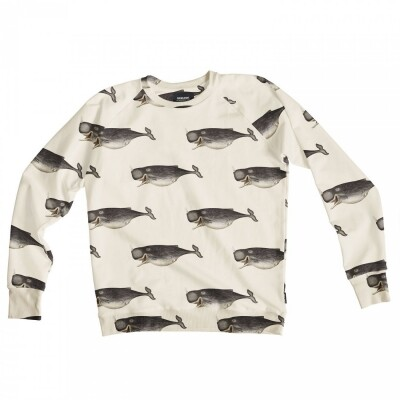 Snurk Sweater Heren Whale by The Dybdahl
