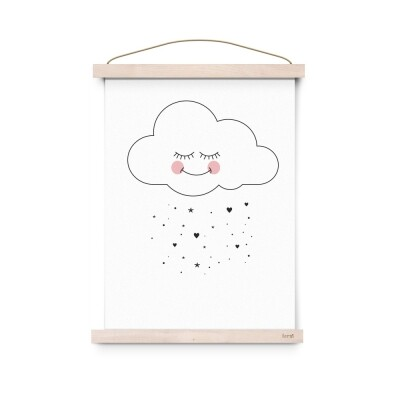 Eef Lillemor Sweet Cloud Poster A3