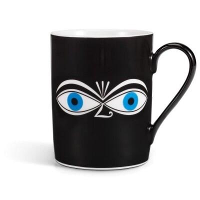 Vitra koffie mok Eyes Girard blue