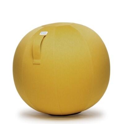 Vluv Leiv zitbal Mustard-H 60-65 cm