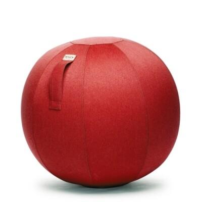 Vluv Leiv zitbal Ruby Red-H 60-65 cm