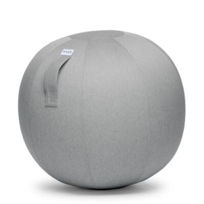 Vluv Leiv zitbal Silver grey-H 70-75 cm