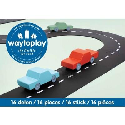 Waytoplay Autoweg 16-delig