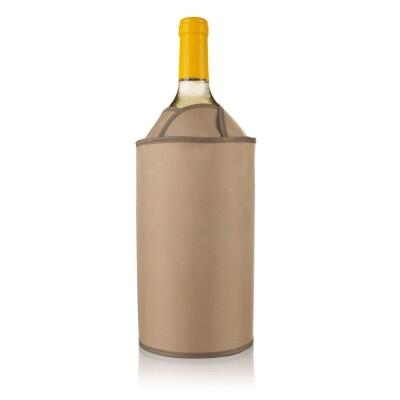 Vacuvin Active Wijnkoeler Tulp bruin
