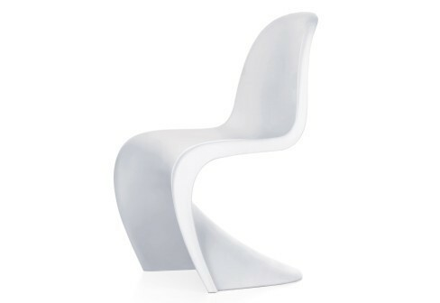 Vitra Stoel Wit : Vitra panton junior stoel wit