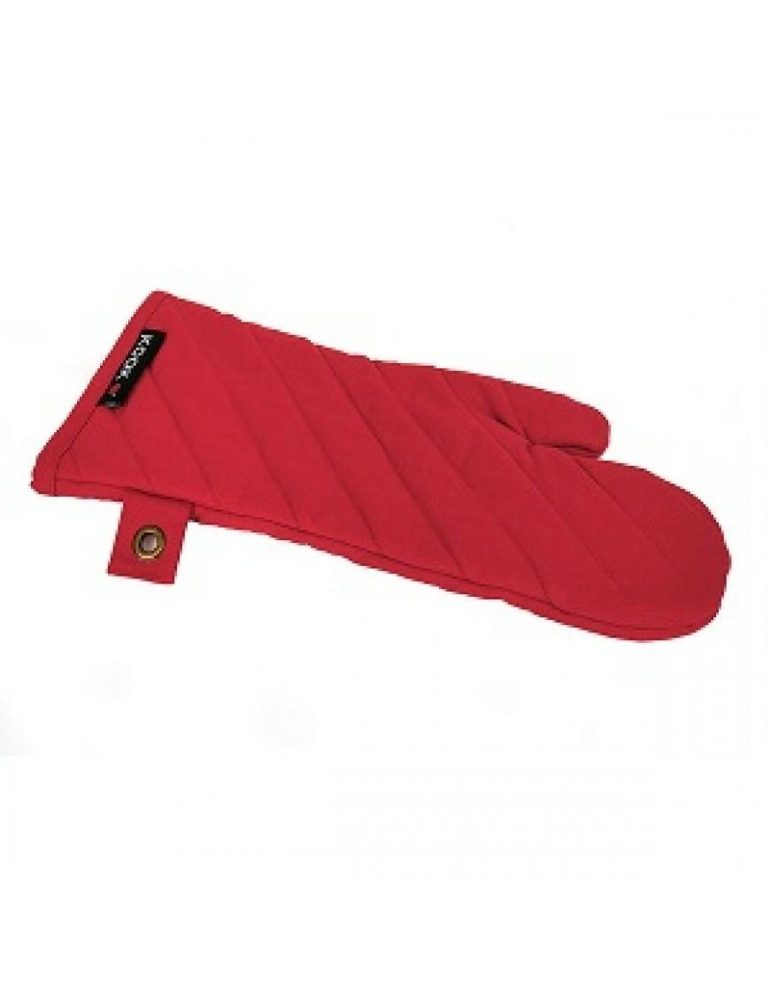 KOOK ovenwant stonewashed XL rood