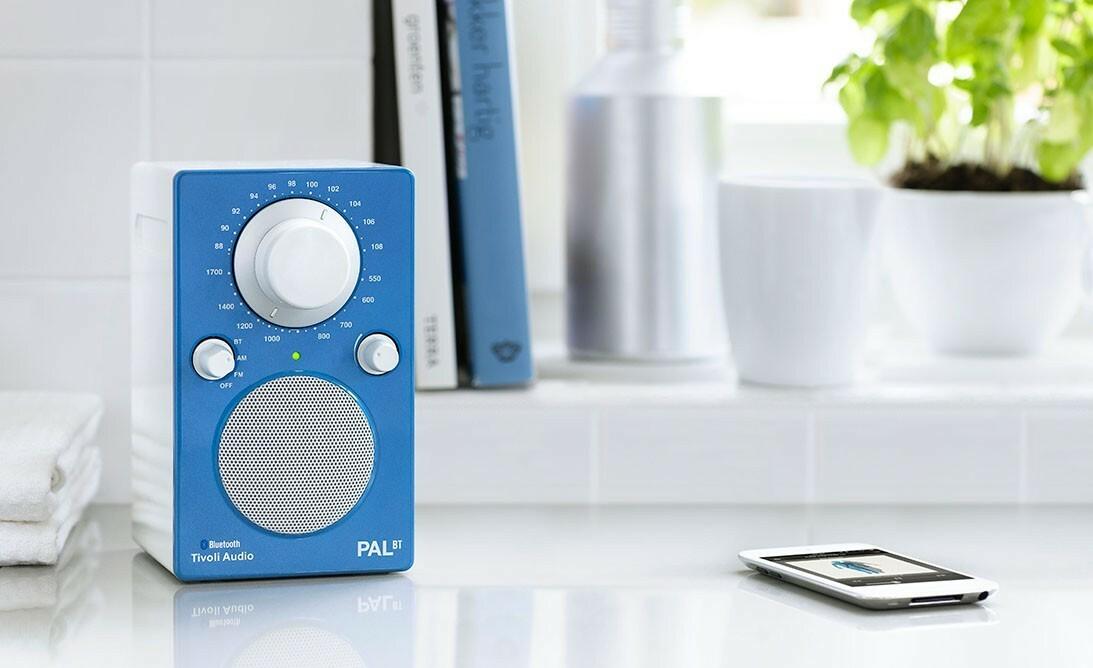 Design Rvs Keukenaccessoires : Tivoli Pal BT draagbare radio