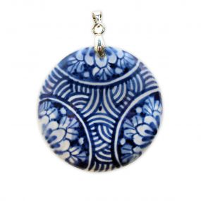 Royal Delft Medaillon rond 4 cm