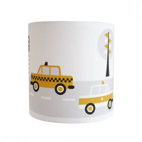 Anni Design wandlamp voertuigen oker