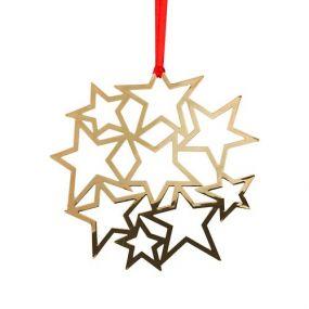 Pluto Deco star gold