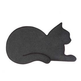 Balvi deurmat kat grijs