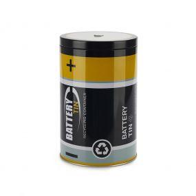 Balvi Tin Tin opbergbak voor lege batterijen