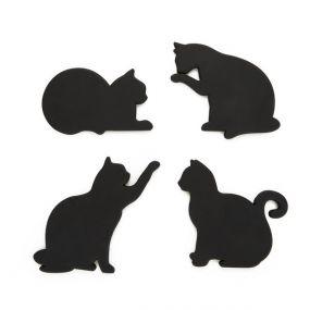 Balvi onderzetters Cat set van 4