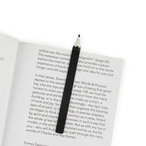Balvi boekenlegger Graphite zwart