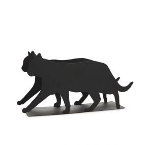 Balvi lectuurhouder Feline zwart