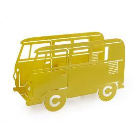 Balvi tijdschriftenrek Bus geel