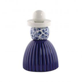 Royal Delft Proud Mary 03 Cobalt Flower Pattern