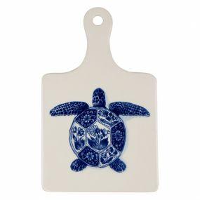 Royal Delft Wunderkammer Kaasplank groot Turtle