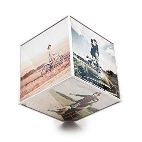 Balvi roterende foto kubus 6x 10 x 10 foto's