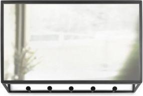 Umbra Cubiko wandorganiser en spiegel
