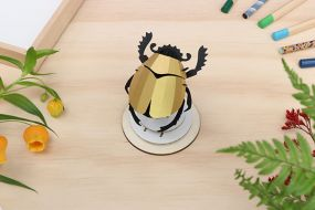 Assembli Scarab beetle gold DIY