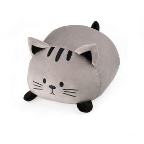 Balvi kattenkussen Kitty grijs