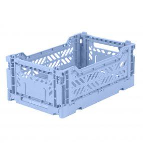 Folding Crates Mini baby blauw Eef Lillemor Ay-kasa