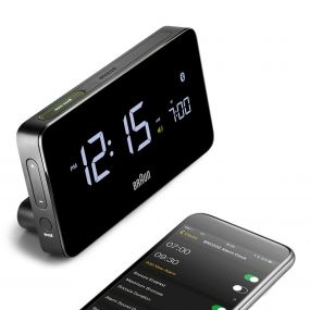 Braun BNC020 digitale klok met bluetooth functie