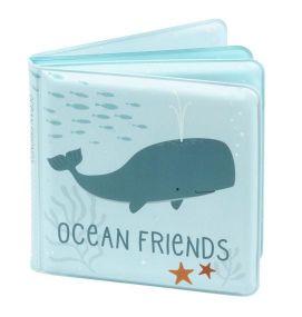 A Little Lovely Company Badboekje Ocean friends vooraanzicht