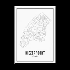 Wijck Zwolle Diezerpoort A4 21 x 30