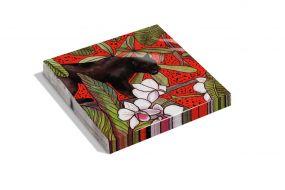 Dutch Design servetten Red Panther