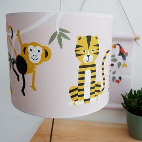 Bi&Li creaties hanglamp Jungle oud roze