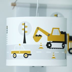 Bi&Li creaties hanglamp voertuigen oker