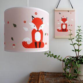 Bi&Li creaties hanglamp Vos oud roze