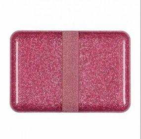 A Little Lovely Company lunchbox Glitter roze