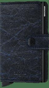 Secrid miniwallet Crunch blauw