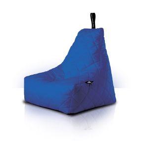 B-Bag zitzak Quilted blauw