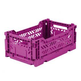 Folding Crates Mini Paars Eef Lillemor Ay-kasa