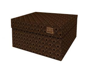 Dutch Design Storage Box Art Deco Night Sky