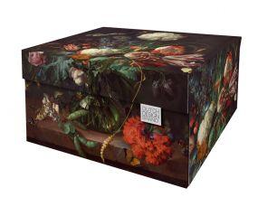 Dutch Design Storage Box Flowers