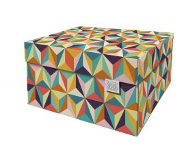 Dutch Design Storage Box Back to the 60's