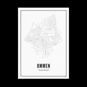 Wijck print Ommen A4 21 x 30