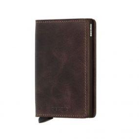 Secrid slim wallet vintage chocolate
