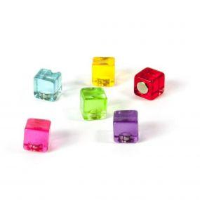 Trendform magneten Color Cube set van 6