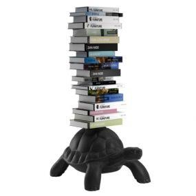 Qeeboo Turtle Carry Bookcase - Black