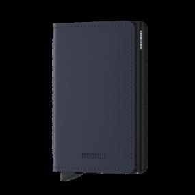 Secrid Slim wallet mat midnight blue