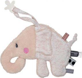 SnoozeBaby knuffeldoekje olifant roze