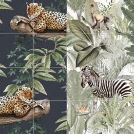 Ixxi dubbelzijdige wanddecoratie Chilling in the Jungle & Into the wild-small (80x100 cm)