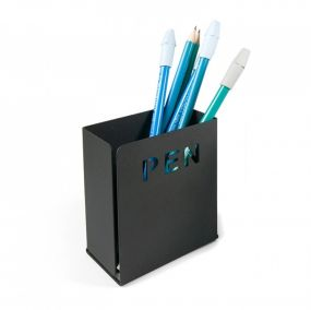 Trendform pennenbakje Pen mat zwart