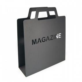 Magazine bag Lectuurhouder mat zwart